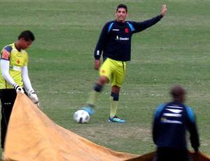 Diego souza vasco treino (Foto: Fred Huber / Globoesporte.com)