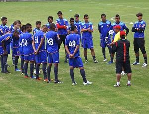 jogadores do Flamengo sub-20  (Foto: Fla Imagem)