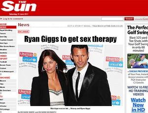 Giggs tratamento sexo reprodução (Foto: Reprodução / The Sun)