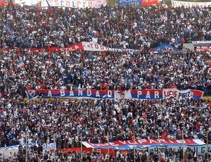 torcida nacional uruguai campeão  (Foto: Sergio Gandolphi / Globoesporte.com)