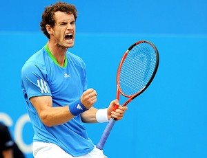 Andy Murray na final contra Tsonga no Queen´s (Foto: Getty Images)