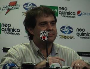 presidente do Ceará Evandro Leitão, Ceará (Foto: Gioras Xerez/ Globoesporte.com)