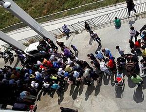 fila málaga (Foto: Divulgação/Site Oficial)