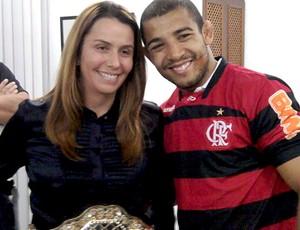 Patricia Amorim e Jose Aldo