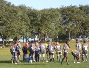 Atlético-PR treina no CT do Caju (Foto: Fernando Freire - Globoesporte.com)