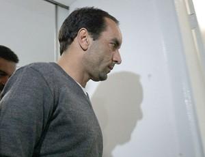 Edmundo é preso  (Foto: Ag. Estado)