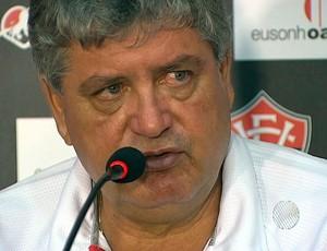 geninho coletiva vitoria (Foto: Reprodução/TV Bahia)