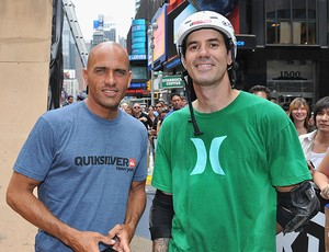 skate  Air In The Square BMX Bob Burnquist  Kelly Slater (Foto: Getty Images)