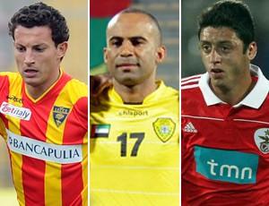 Reforços Botafogo Gustavo, Alexandre Oliveira e Felipe Menezes (Foto: Reprodução)
