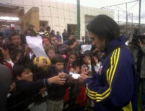 falcão garcia treino colômbia (Foto: Site oficial)