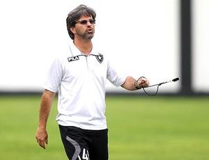 Caio Junior no treino do Botafogo (Foto: Divulgação)