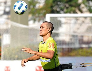 Eduardo Costa no treino do Vasco (Foto: Marcelo Sadio / Site Oficial do Vasco da Gama)