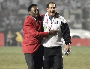 Pelé Muricy Ramalho Santos Libertadores (Foto: Ag. Estado)