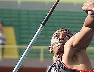 Felipe Vinícius dos Santo octatlo dardo (Foto: Wagner Carmo / CBAt)