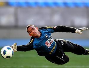 Renan no treino do Botafogo (Foto: Divulgação)