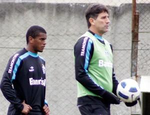 Renato Gaúcho no treino do Grêmio (Foto: Wesley Santos / PressDigital)