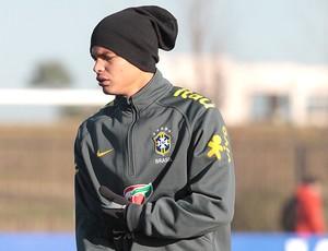 Frio Thiago Silva Seleção (Foto: Thiago Lavinas / Globoesporte.com)