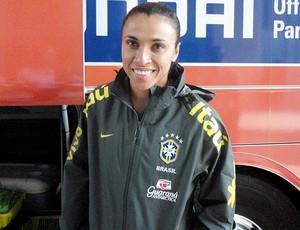 Marta seleção feminina de futebol (Foto: Clícia Oliveira / Globoesporte.com)