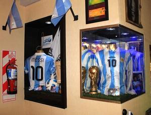 Bar de futebol (Foto: João Paulo Garschagen / GLOBOESPORTE.COM)