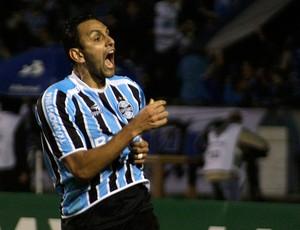 Rafael Marques gol Grêmio (Foto: Wesley Santos / PressDigital)