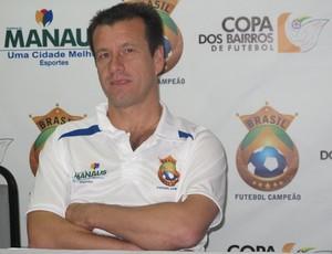 dunga manaus coletiva (Foto: Cahê Mota/Globoesporte.com)
