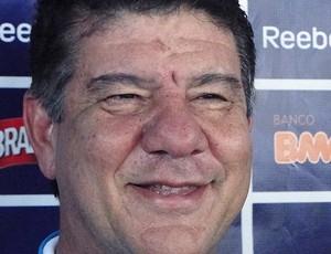 joel santana cruzeiro (Foto: Fernando Martins/Globoesporte.com)