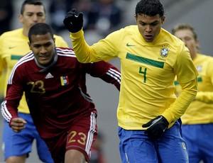 thiago silva brasil venezuela copa américa (Foto: Mowa Press)