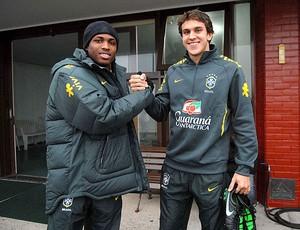 Diego Mauricio Bruno Uvini Seleção sub-20 (Foto: Alexandre Durão / Globoesporte.com)