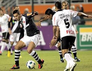 Diego Souza no jogo do Vasco contra o Corinthians (Foto: Eliaria Andrade / Ag. O Globo)