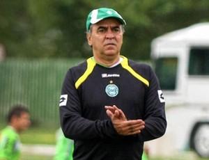 Marcelo Oliveira no treino do Coritiba (Foto: Divulgação/Coritiba)