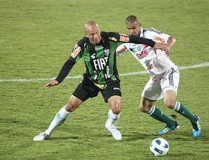 Fabio Junior América-MG Mauricio Ramos Palmeiras (Foto: Ag. Estado)
