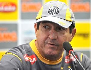 Muricy Ramalho no treino do Santos (Foto: Divulgação / Site Oficial do Santos)