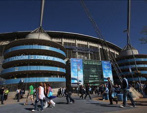 Estádio city of manchester do manchester city (Foto: agência Getty Images)