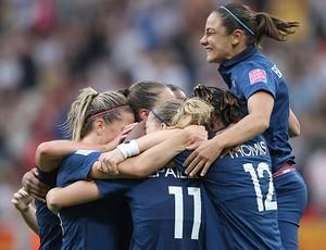 jogadoras frança futebol feminino elimina inglaterra copa do mundo (Foto: Agência EFE)
