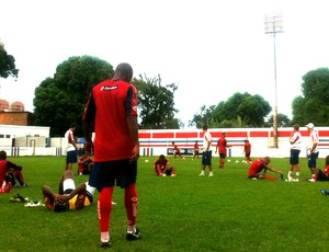 Márcio Gabrel, lateral do Fortaleza (Foto: Roberto Ranulfo/GLOBOESPORTE.COM)