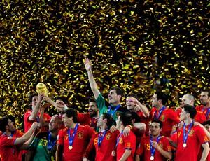 espanha campeã final copa do mundo 2010 (Foto: Getty Images)