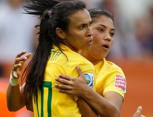 marta maurine brasil gol estados unidos copa do mundo futebol feminino (Foto: Agência Reuters)