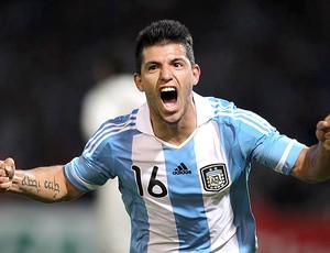 Aguero gol Argentina (Foto: EFE)