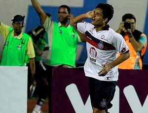 fahel comemora gol contra o botafogo (Foto: Divulgação/Site oficial)