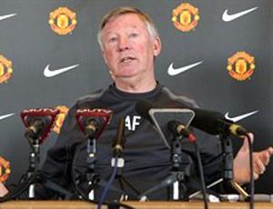 Alex Ferguson durante entrevista do Manchester United (Foto: Reprodução / Site Oficial)