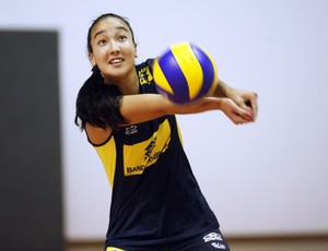 Ana Tiemi, jogadora de vôlei (Foto: Maurício Val/Vipcomm)