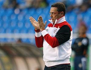 Luxemburgo na partida do Flamengo contra o Fluminense (Foto: Wagner Meier / Ag. Estado)