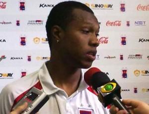 Brinner, do Paraná Clube (Foto: Divulgação / Paraná Clube)