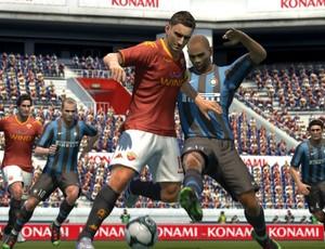 Pro Evolution Soccer 2011  (Foto: Divulgação/Konami)