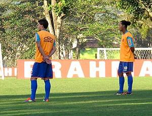 Thiago Neves e Ronaldinho