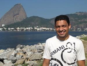 Eder Luis atacante do Vasco (Foto: Fred Huber / GLOBOESPORTE.COM)