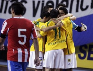 brasil paraguai futsal (Foto: Beto Costa/CBFS)