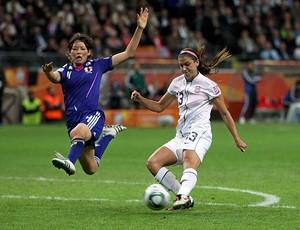 Alex Morgan EUA futebol feminino (Foto: Reuters)