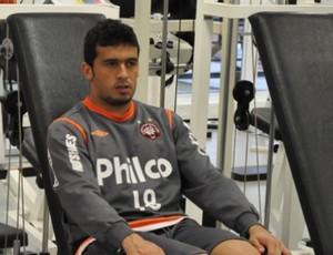 Edílson treina no CT do Caju (Foto: Fernando Freire/Globoesporte.com)