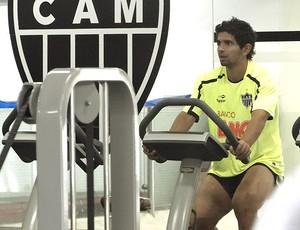 Guilherme no treino do Atlético-MG (Foto: Lucas Catta Prêta / Globoesporte.com)